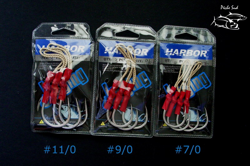 Harbor - Jigging hooks + assist #9/0 - Click Image to Close