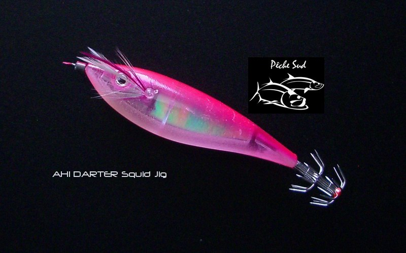"Ahi - Darter Squid 4.5"" Pink - Click Image to Close"