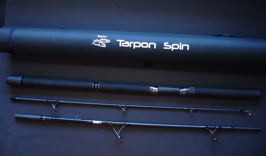 Travel fishing rod - Tarpon SPIN - Click Image to Close