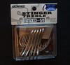 owner st-66 TN 4x 5/0 treble hooks