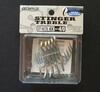 owner st-66 TN 4x 4/0 treble hooks