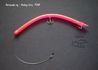 Barracuda tube lure pink