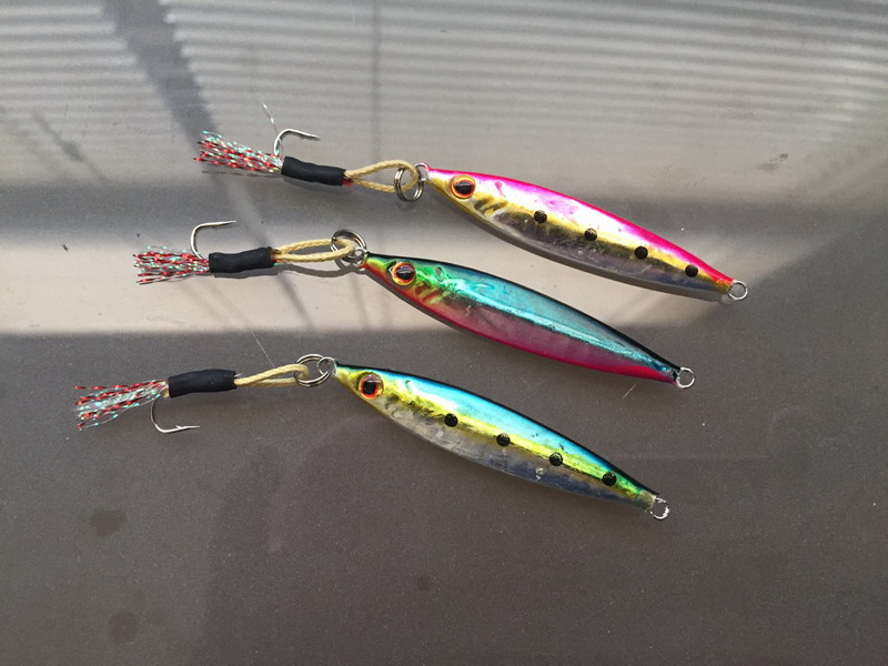 Micro jigs for inshore jigging