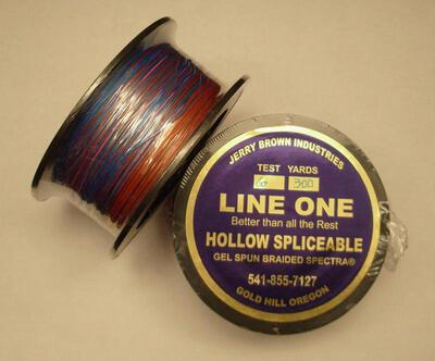 Jerry Brown Decade Line One Hollow Core Spectra Braid 60 lbs-300