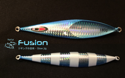 FUSION - Slow jigging lure 180 grams -Blue