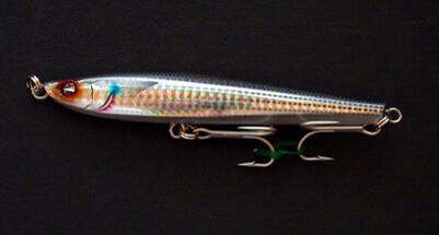 Yo-zuri Edge Trembler minnow SHMT-Mullet Flash