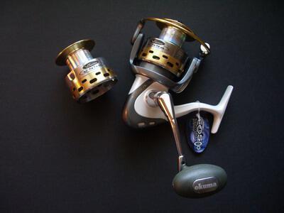 Okuma Vsystem V55A Okuma Saltwater spinning fishing reels [v55a