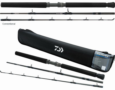 Daiwa Saltiga G boat rods (3 pieces - MH - Conventional)