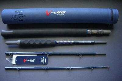 Fox V-Jig - 4 sections jigging rod