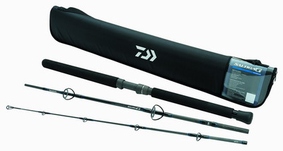 Daiwa Saltiga G boat rods (3 pieces - MH - Spinning)