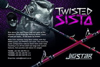 JIGSTAR - Canne Twisted Sista - ML